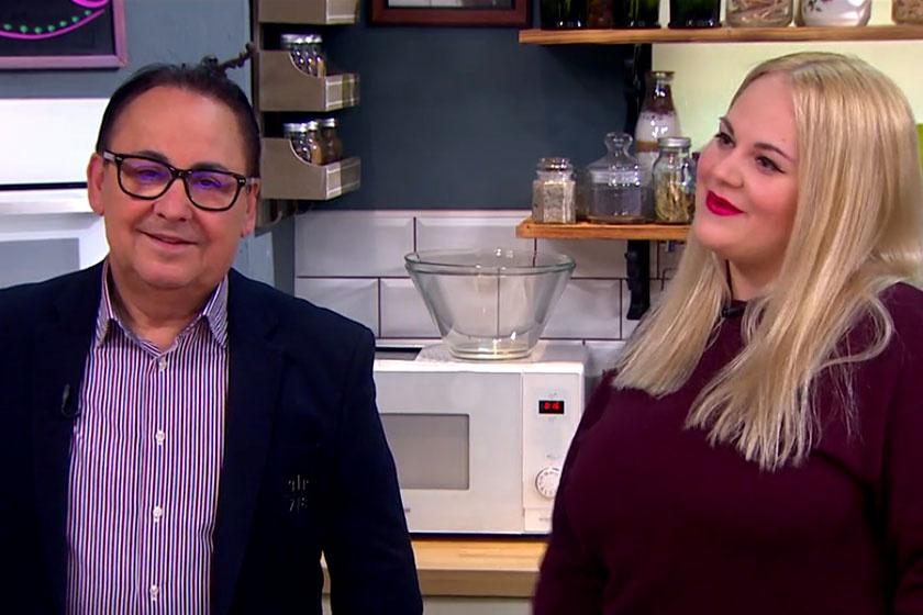 Fásy Ádám és lánya, Zsüliett együtt adtak interjút a TV2 Mokka című műsorában.