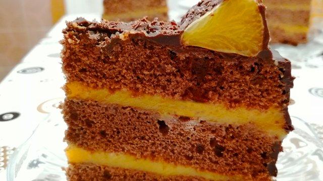 Narancskrémes torta - Majdnem teljesen diabetikus