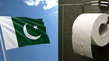 A legjobb vécépapír keresése a pakisztáni zászlót eredményezi