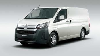 Elkészült a Toyota Hiace következő generációja