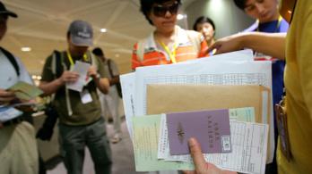 A kínaiak 10 százalékának van útlevele, de ez így is 140 millió turista