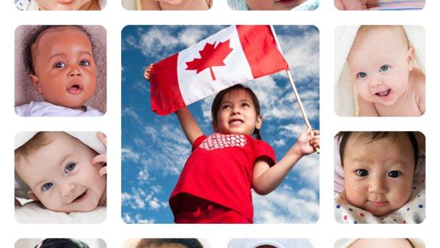 Babavárás kanadai módra
