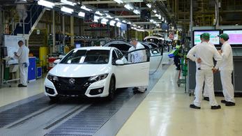 Brexit: a Honda három éven belül bezárja az angliai gyárát