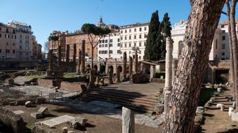 Látogatható lesz Rómában Julius Caesar meggyilkolásának helyszíne