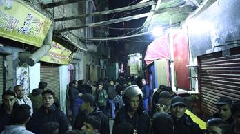 Öngyilkos merénylő robbantott Kairóban