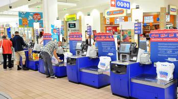 Az Auchannál is jönnek az önkiszolgáló kasszák