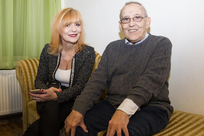 Vekerdy Tamás és Szily Nóra 2018 januárjában a Femina Klub estjén.