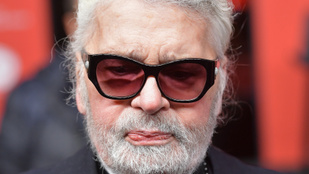 Meghalt Karl Lagerfeld, a Chanel-vezér, aki Palvin Barbaráról is büszkén posztolt, amikor sikerült