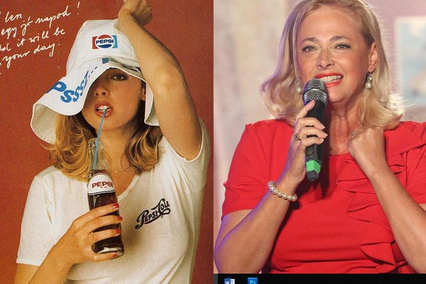 A rendszerváltás évei előtt ő testesítette meg a szépségideált, nem csoda, hogy őt választották a Pepsi-Cola reklámarcának is.