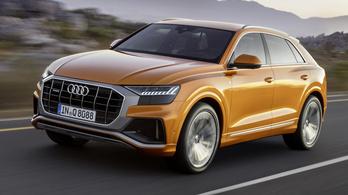 Új benzinmotor az Audi Q8-ban és a VW Touaregben