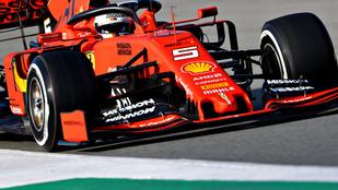 Vettel: Tök rondák az első szárnyak