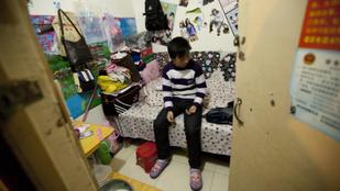 Pekingben egymillióan élnek egy föld alatti atombunkerben