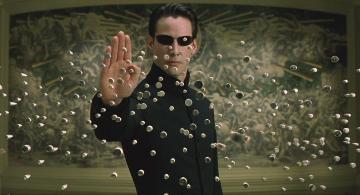 neo-matrix stop-bullets