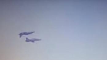 Gyakorlatozás közben ütközött két indiai vadászgép