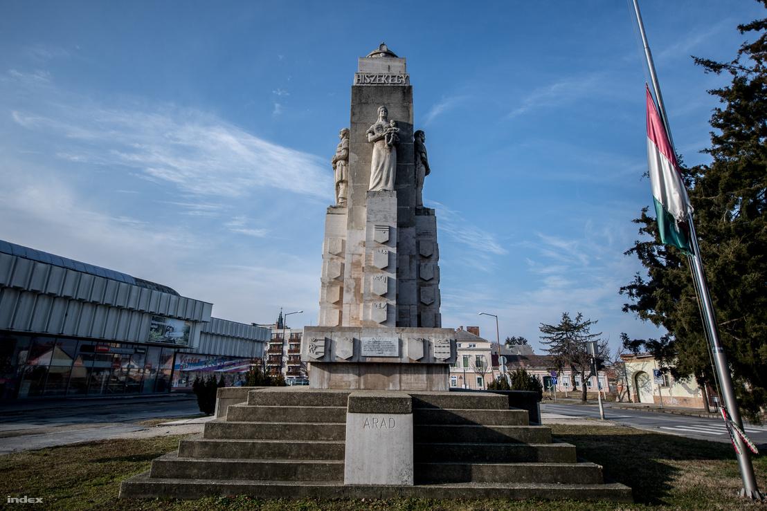 A Nagy-Magyarország-emlékmű Nagykanizsán: egy jó tájépítészeti koncepció sokat dobhatna a megjelenésén