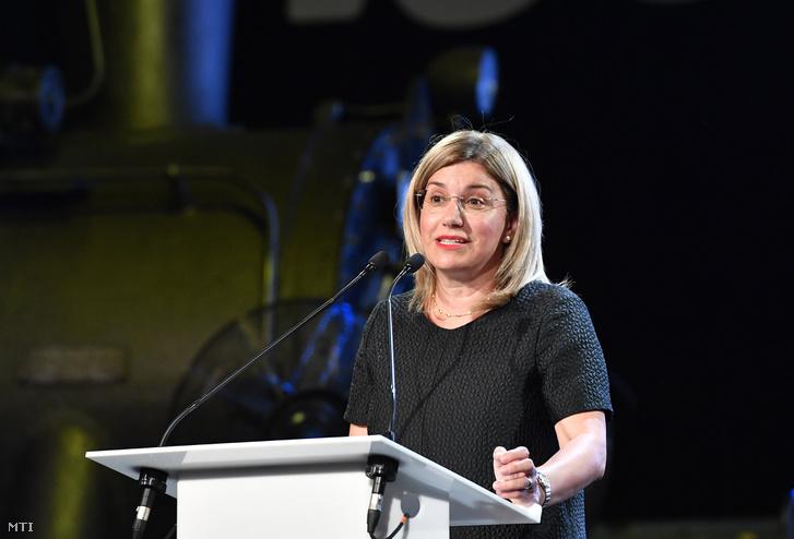 Bártfai-Mager Andrea nemzeti vagyon kezeléséért felelős tárca nélküli miniszter