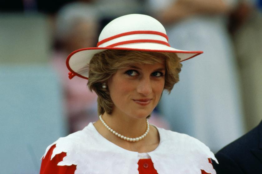 Diana hercegnő álomszép volt Chanelben - Őt is Karl Lagerfeld öltöztette