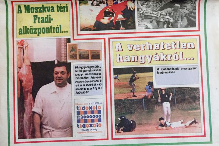 Nagykanizsa Ants a címlapon, a Nemzeti Képes Sport 1996. november 5-i számában