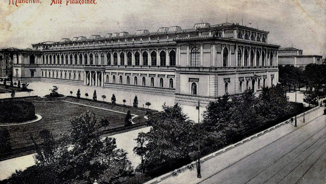 Fotókon a müncheni Régi Képtár