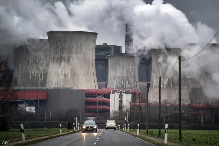 A niederausseni szénerőmű 2019. január 16-án