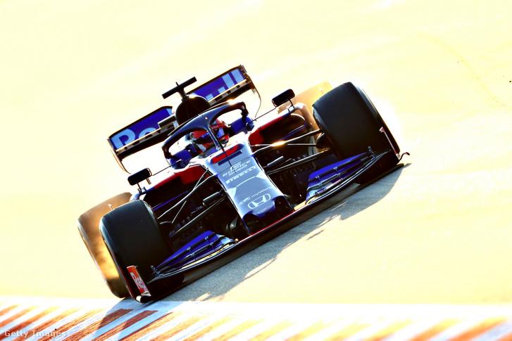 Kvjat és a Toro Rosso-Honda