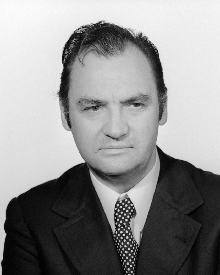 Kautzky József színművész, a Thália Színház tagjaként 1973-ban.