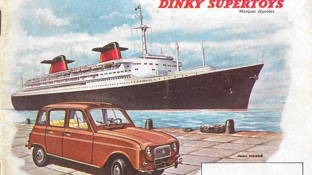 1962-es Dinky Toys katalógus