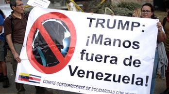 Venezuela lezárta a kikötőit, hogy ne érkezhessenek amerikai segélyek