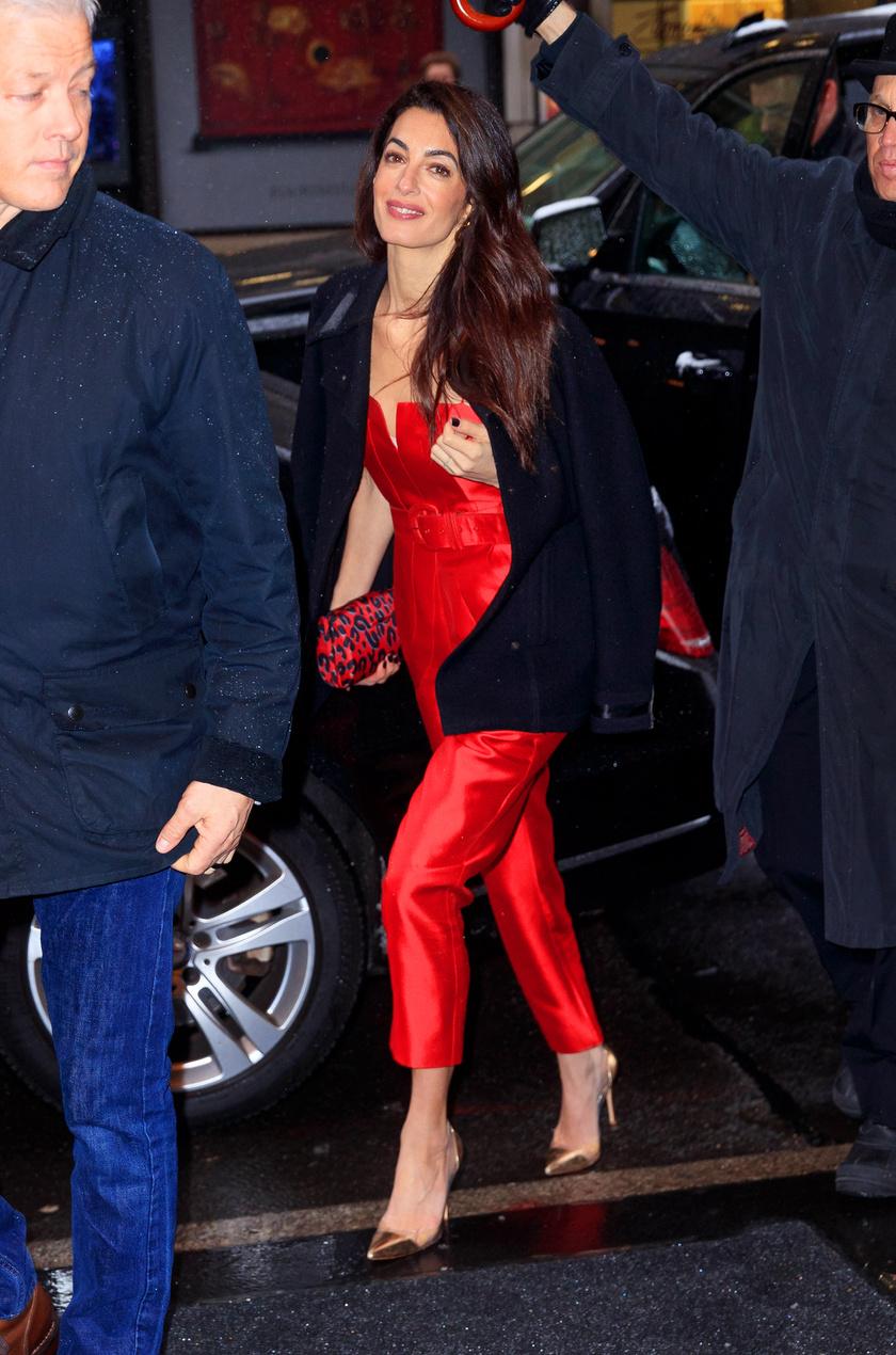 Amal Clooney maga is beillett volna egy hercegnőnek - sokan az Aladdin mese Jázminjához hasonlították.