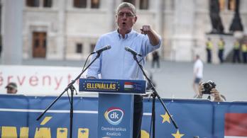 Gyurcsány: A DK önállóan indul az EP-választáson