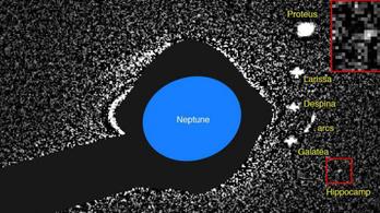 A Neptunusz holdjainak élete nem csak játék és mese