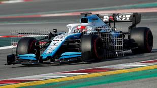 Kubica hamar belökte a Williamset, de jött a piros zászló