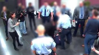 Hadházy egy biztonsági kamera felvételével reagált az ügyészség állítására