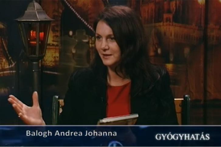 Balogh Andrea Johanna, Kásler Miklós sajtófőnöke a Hatoscsatornán futó Gyógyhatás műsorvezetőjeként