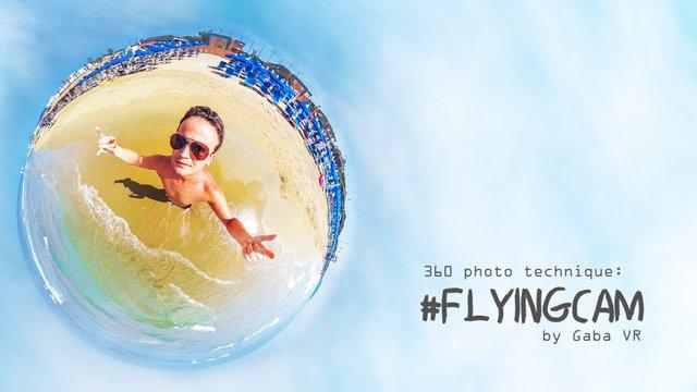 360 fokos szelfi repülő kamerával
