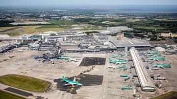 Most a dublini repülőtér forgalmát akasztotta meg egy drón
