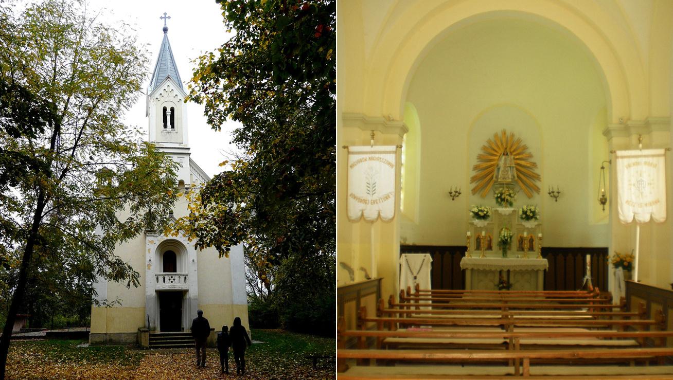 Máriakálnok-kápolna-kép