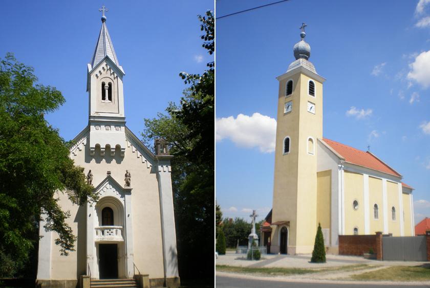 Máriakálnok Sarlós Boldogasszony-kegykápolnája és római katolikus temploma.