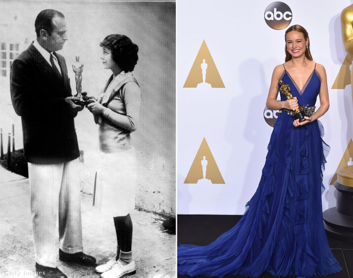 Janet Gaynor (1929), Brie Larson (2016)