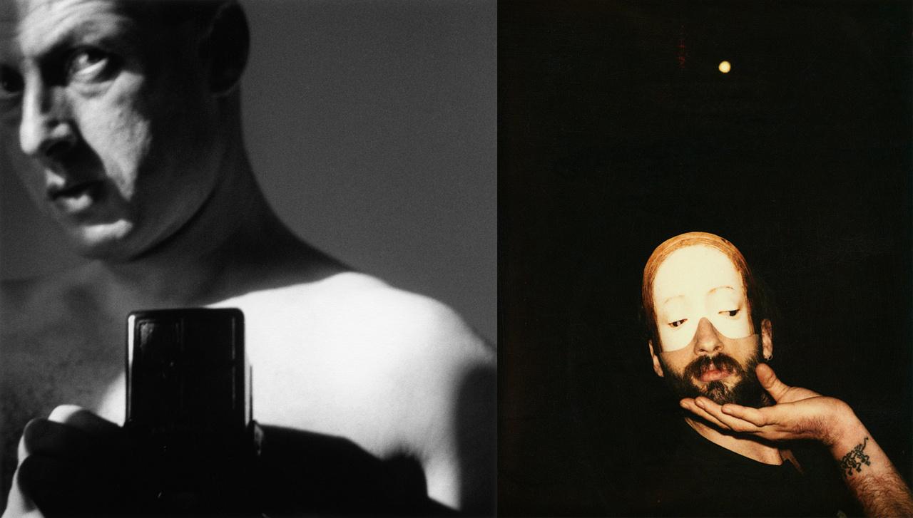 Lucien Hervé - Önarckép 1938 Párizs; Rodolf Hervé - Önarckép 1992 Budapest