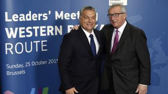 Juncker képtelen utálni Orbán Viktort