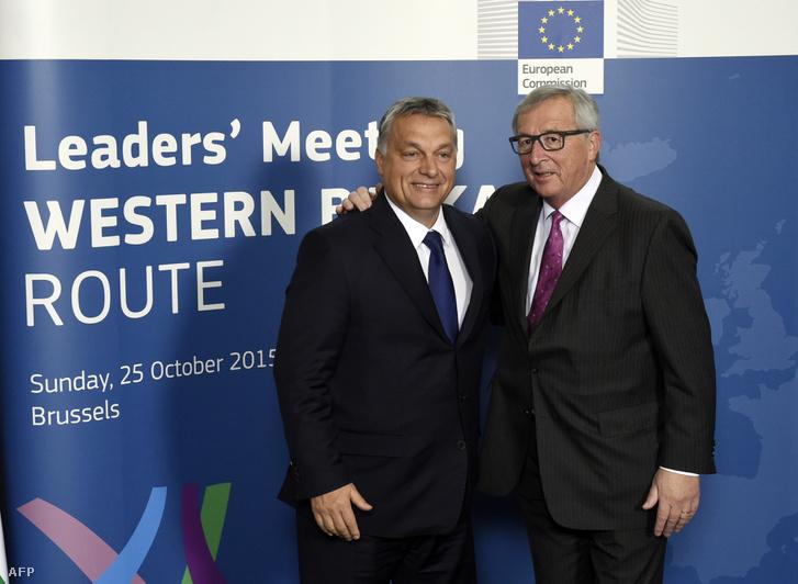 Orbán Viktor És Jean Claude Juncker
