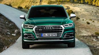 Audi SQ5, már dízel-hibrid hajtással is