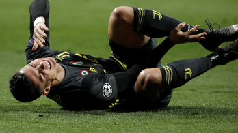 Ronaldo bokáját egy másodperc alatt kétszer próbálták meg széttaposni