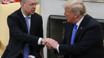 Magyar állampolgár lett a lelkész, akin összebalhézott Trump és Erdogan