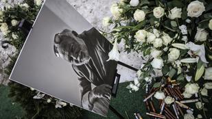 Andy Vajna Los Angeles-i sírjánál Mága Zoltán hegedült