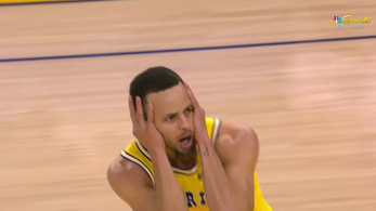 Saját zsákolásától vesztette el az eszét Curry
