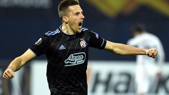 Hat védő nézte tátott szájjal, mekkora gólt lő a Dinamo Zagreb