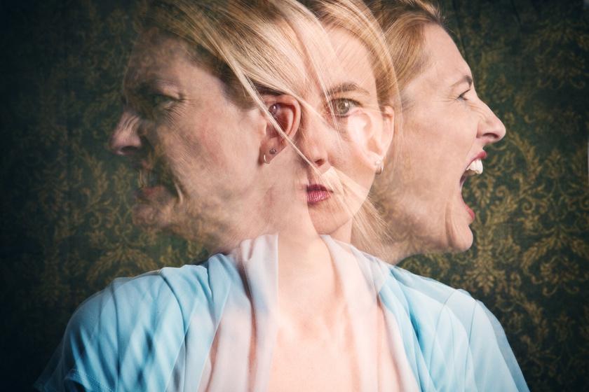 fejrázás mentális egészség nő mérges ordít