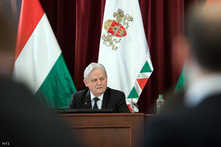Tarlós István 2019. február 20-án.